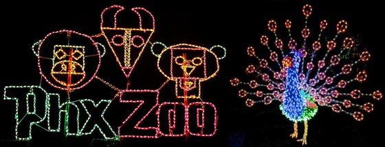 Phoenix Zoo Lights 2017 Hours Dates Coupons Awesome