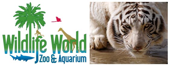 Wildlife world zoo and aquarium discount coupons